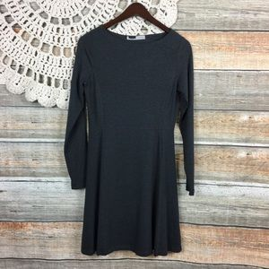 Athleta | Comfy Long Sleeve Fit And Flare Dress